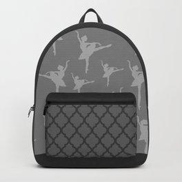 Grey Ballerinas Backpack
