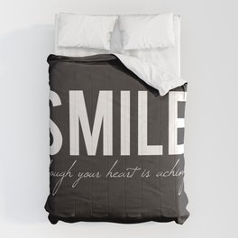 02. Smile though your heart is aching Comforters