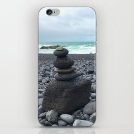 Grey cairns Beach iPhone Skin