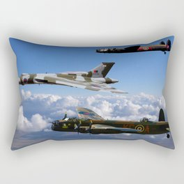 Avro Sisters Rectangular Pillow