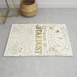 Made of Stardust – Gold Palette Rug