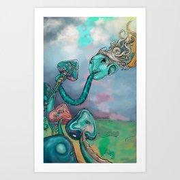 música comestible Art Print