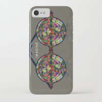imagine iPhone & iPod Cases featuring iMAGINE by Deepti Munshaw