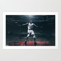 Patrick Ewing - Guardians of the Garden 1/5 Art Print