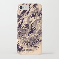 chaos iPhone & iPod Cases featuring Chaos by nicebleed