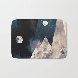 Escape, from planet earth Bath Mat
