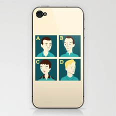 Androids iPhone & iPod Skin