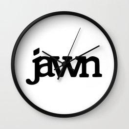 jawn Wall Clock