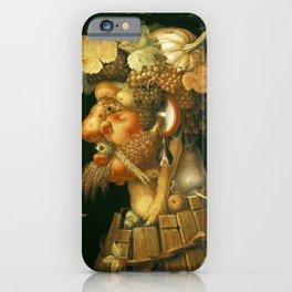 Giuseppe Arcimboldo autumn iPhone Case