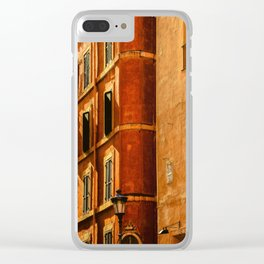 Architecture in Rome Clear iPhone Case