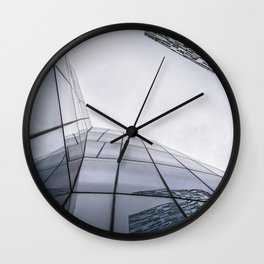 Modern architecture buildings in New York City Wall Clock