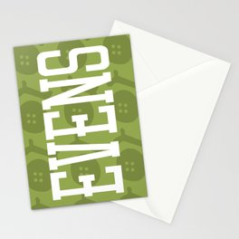 Evens (pattern 2) Stationery Cards