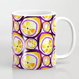 Sweet Plum Lemon Coffee Mug