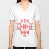 tribal V-neck T-shirts featuring Tribal by Molnár Roland