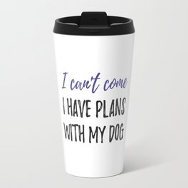 Home with my Dog Travel Mug