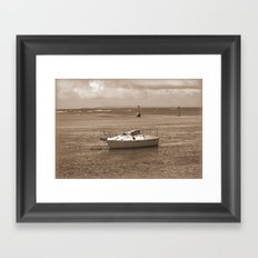 Rustic Boat Framed Art Print