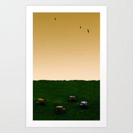 Everywhere and Nowhere Art Print