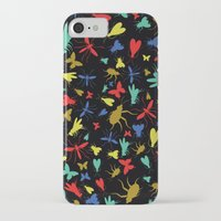 insects iPhone & iPod Cases featuring Insects by Nabaa Baqir