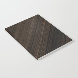 Ebony Macassar Wood Notebook