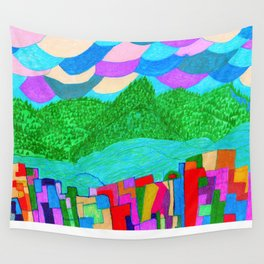 The Forcast for Today, Looks Bright. Have a Good One! Wall Tapestry