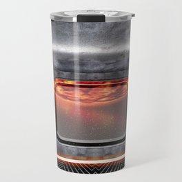 Sci-fi Space Ship Metal Interior Travel Mug