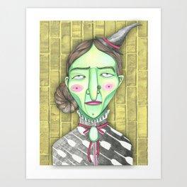 Elphaba Art Print