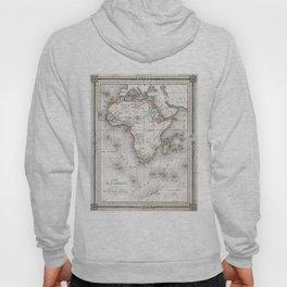 Vintage Map of Africa (1852) Hoody