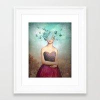 imagine Framed Art Prints featuring Imagine by Christian Schloe