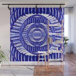 Blue Indigo Wall Mural