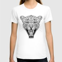 leopard T-shirts featuring Leopard by Libby Watkins Illustration