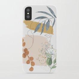Line in Nature II iPhone Case