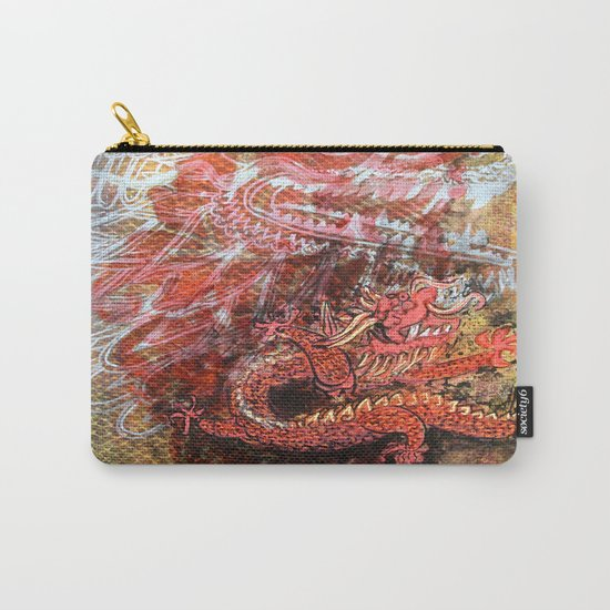 Awakening of the Dragon Carry-All Pouch