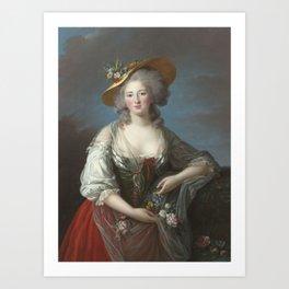 Elisabeth-Philippe-Marie-Hélène de France by Élisabeth Vigée Le Brun Art Print