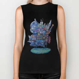 Fandom Moving Castle Biker Tank