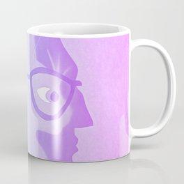 The cat inside - bicolor Coffee Mug