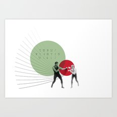 Them's Fightin' Words Art Print