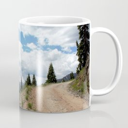 The Road of Life: Venture to Learn What's Around the Next Bend, and Prepare for Stormy Skies Coffee Mug