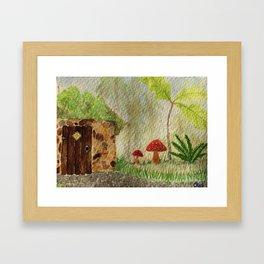 The Fairy Hut Framed Art Print