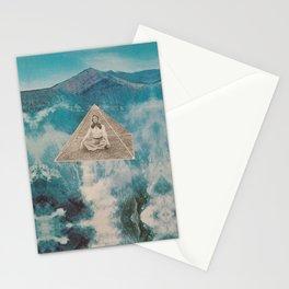 Flotar entre las nubes  Stationery Cards