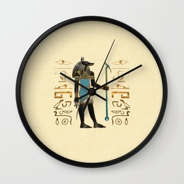 The Jackal Wall Clock