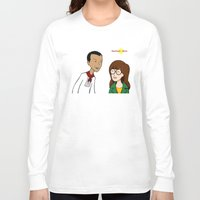 daria Long Sleeve T-shirts featuring Daria meets Andres Bonifacio by Cesar Cueva