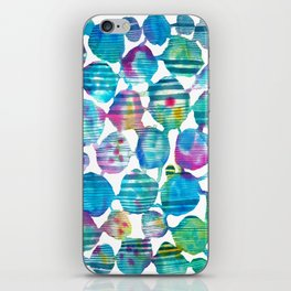 Freestyle watercolor iPhone Skin