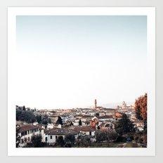 looking at Florence Art Print