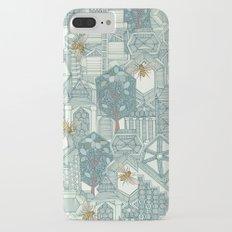 hexagon city iPhone 7 Plus Slim Case