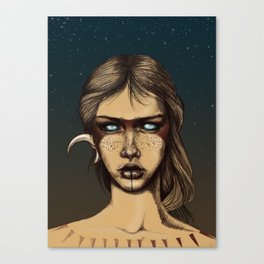 Nocturnal Warrior Canvas Print
