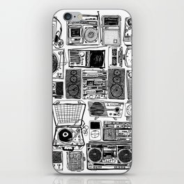 Music Boxes iPhone Skin