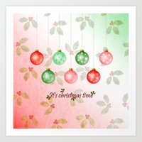 It's christmas time Art Print