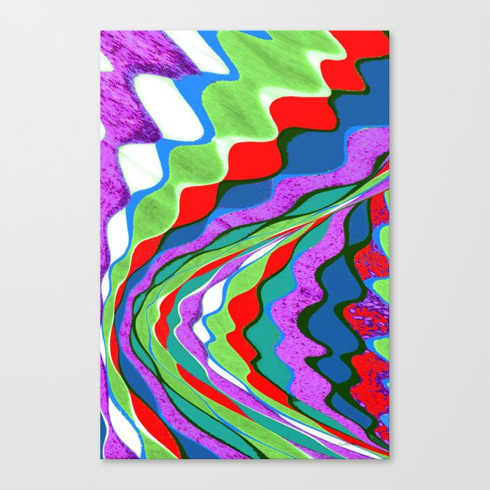 I Dream in Colors Canvas Print
