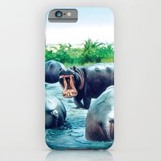 hippos iPhone 6s Slim Case