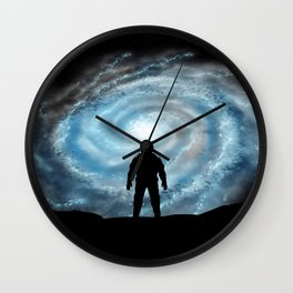 Alien Shores Wall Clock